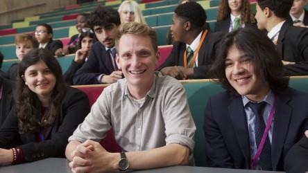 Director Tom Harper visits Westminster Academy