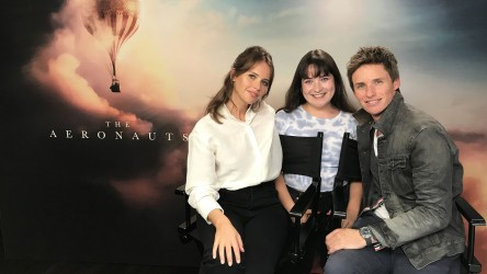 The Aeronauts - Eddie Redmayne and Felicity Jones