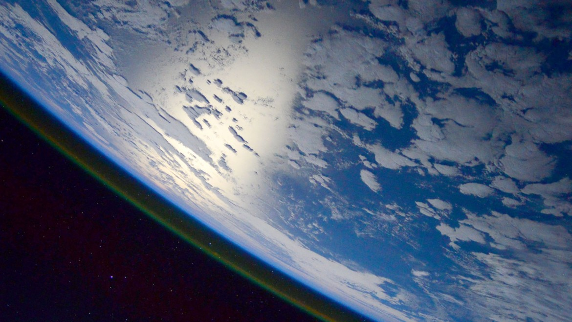 The world as seen from space.