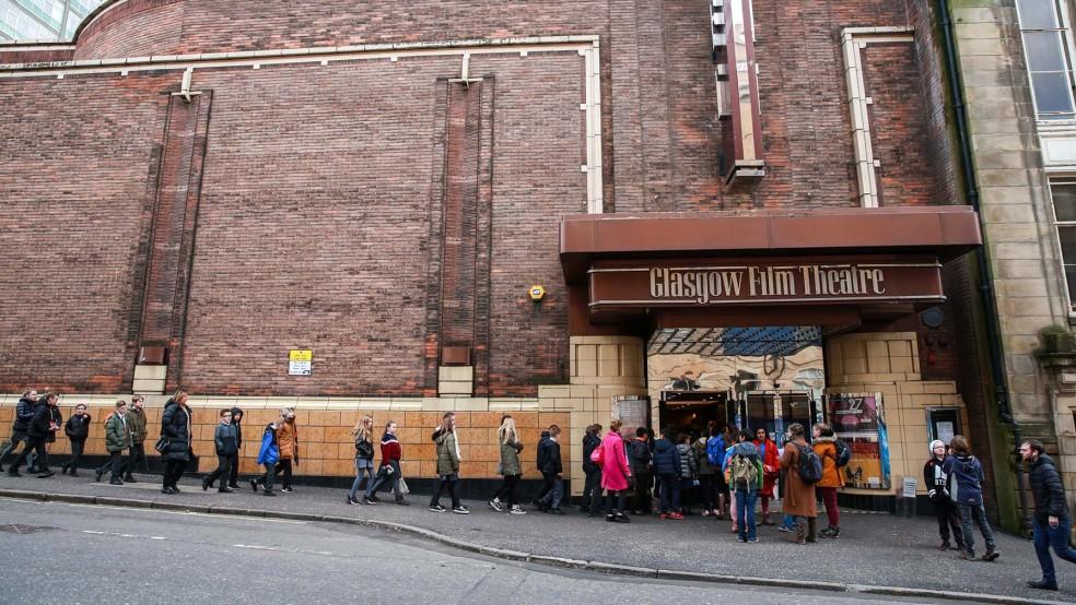Glasgow Film Theatre - Queue for '2040'
