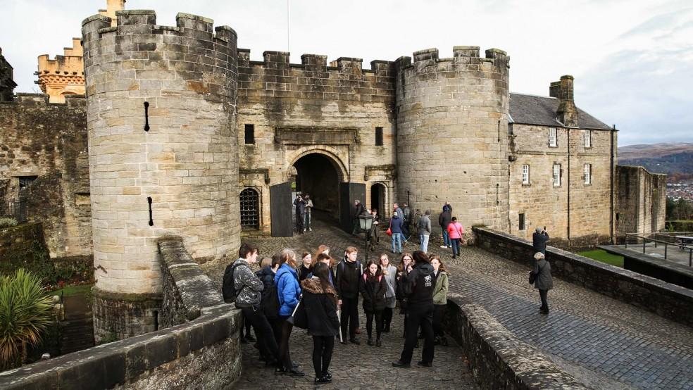 Stirling Castle - Into Film Festival venue