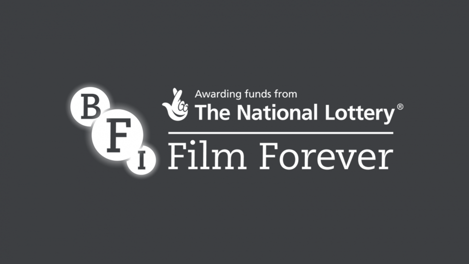 BFI Film Forever logo on black background