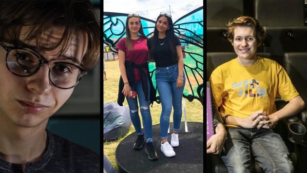 Ones to Watch winners, Hedydd, Jack, Leoreta and Mahek