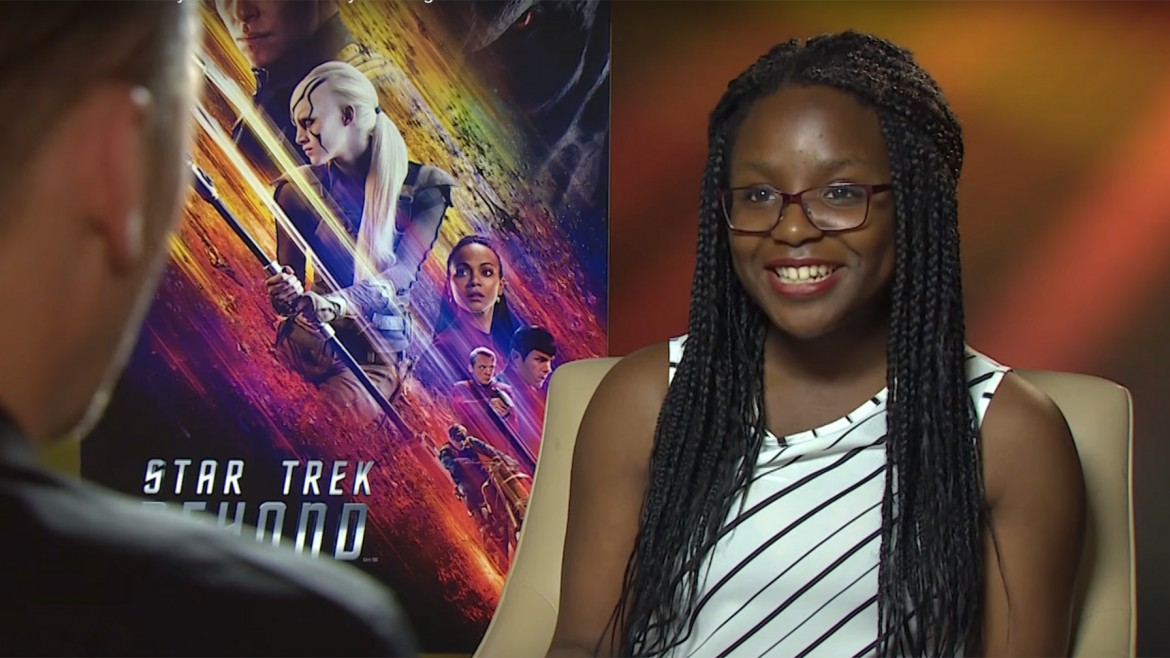 Ogo, Star Trek Beyond interview