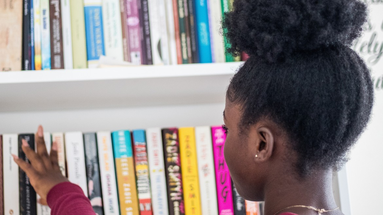 Bookshelf Browsing (by Suad Kamardeen on Unsplash)