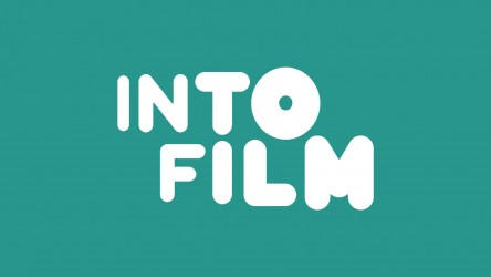 Into Film Logo (White & Teal)