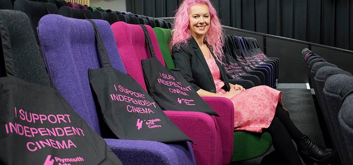 Plymouth Arts Centre's Director and Programmer Anna Navas