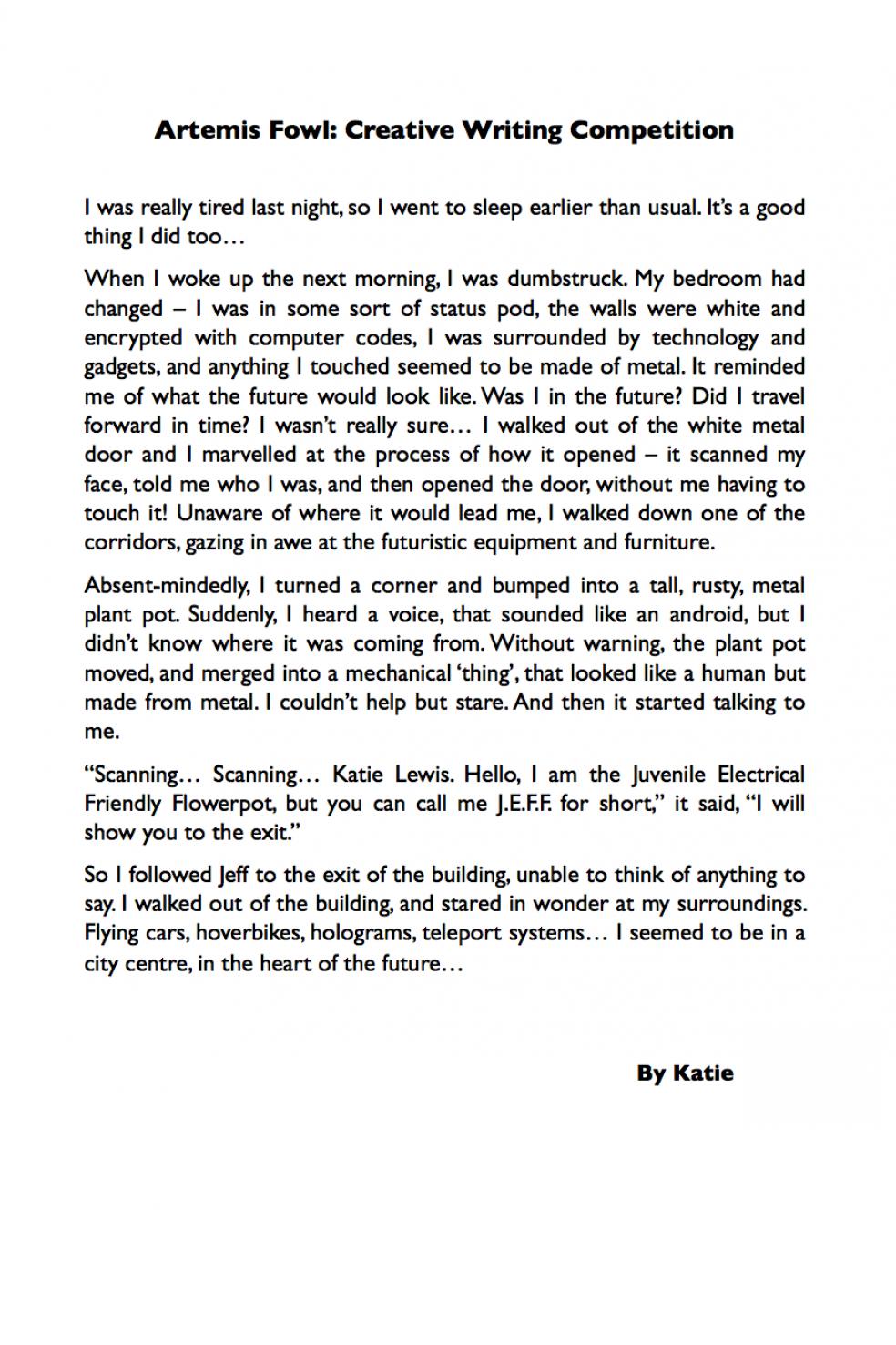 Katie Artemis Comp