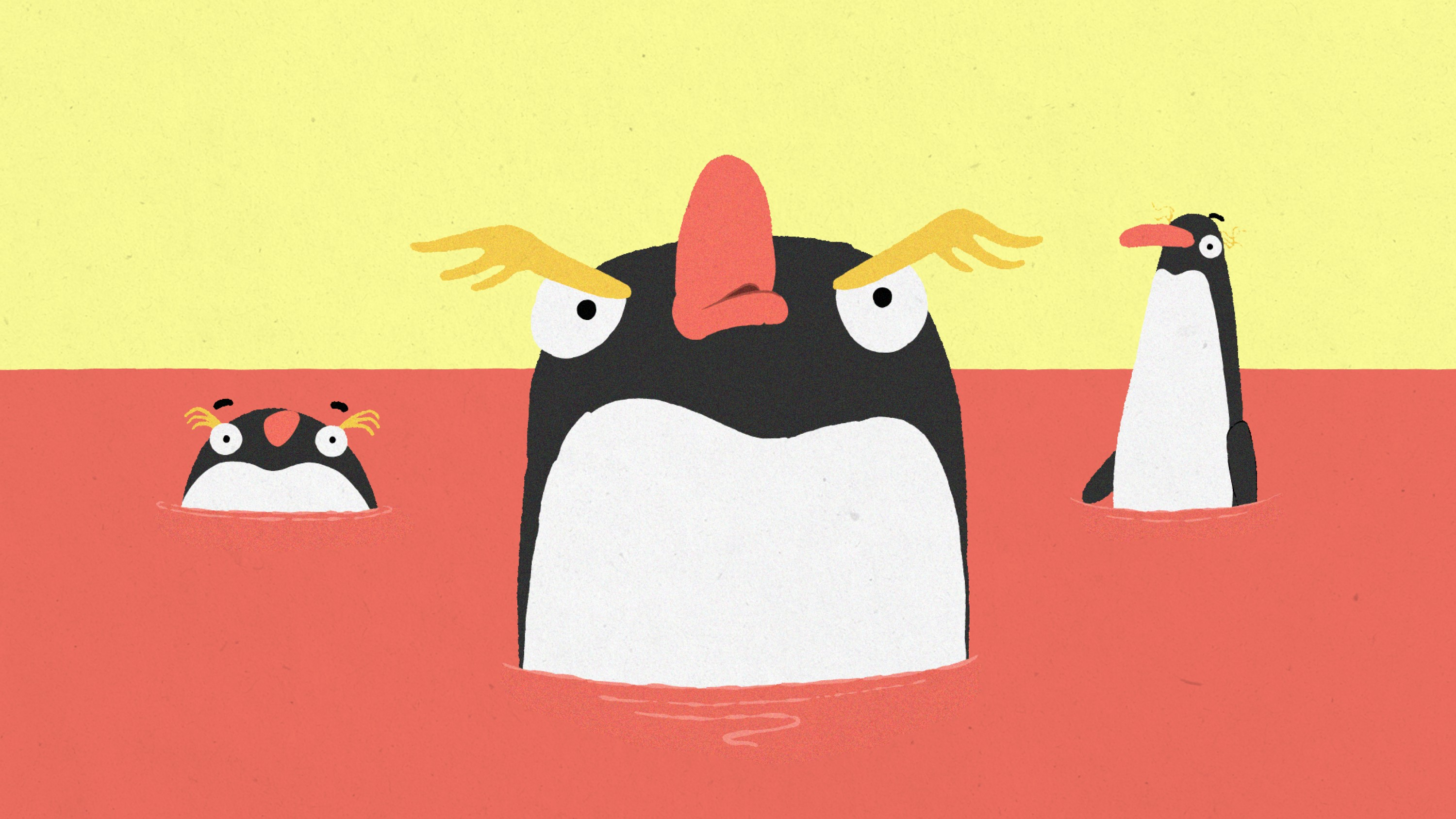 The Penguin Who Couldn't Swim