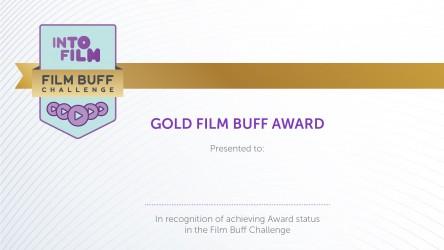 Film Buff Challenge - Gold Certificate