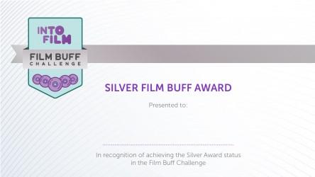 Film Buff Challenge - Silver Certificate