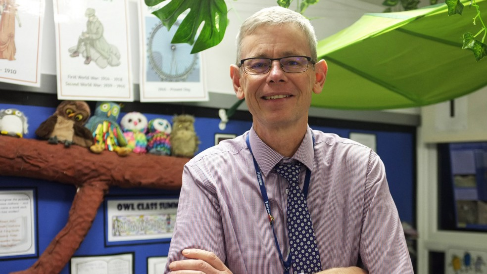 Robin Hall, Fairview Community Primary School, Gillingham