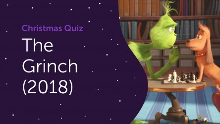 The Grinch (2018) Questions - Christmas Quiz 2020