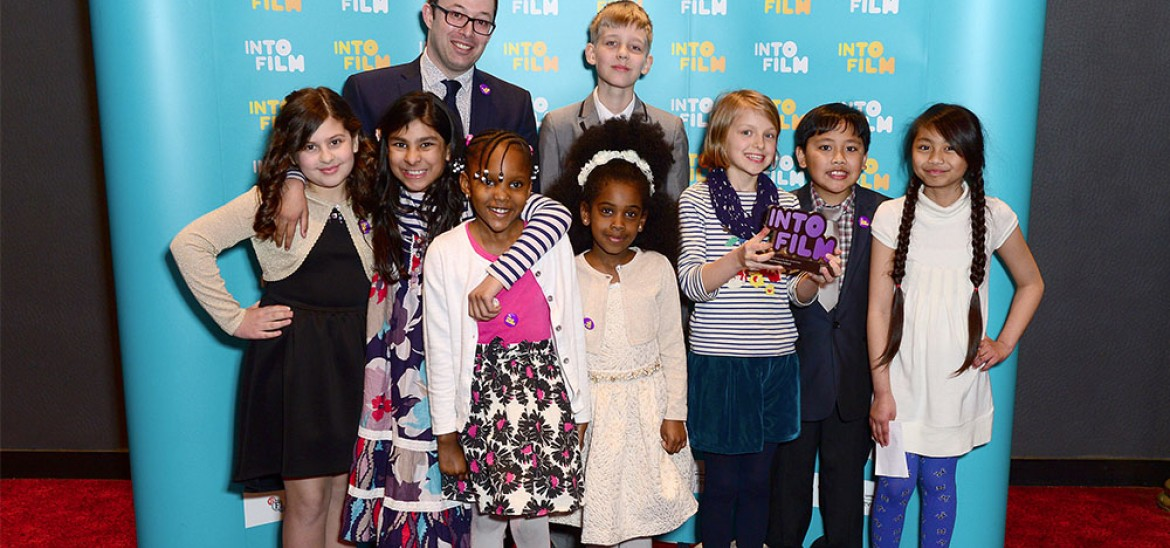 Anson Primary School at Into Film Awards