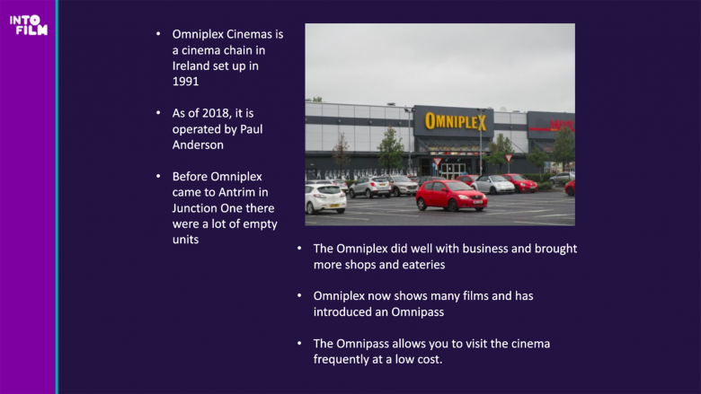 Youth Advisory Council Member Grace (16) - Omniplex in Northern Ireland