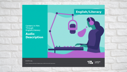 Image of the Careers in Film: Audio Describer Power Point Presentation