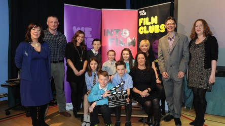 Group shot from Into Film Northern Ireland launch