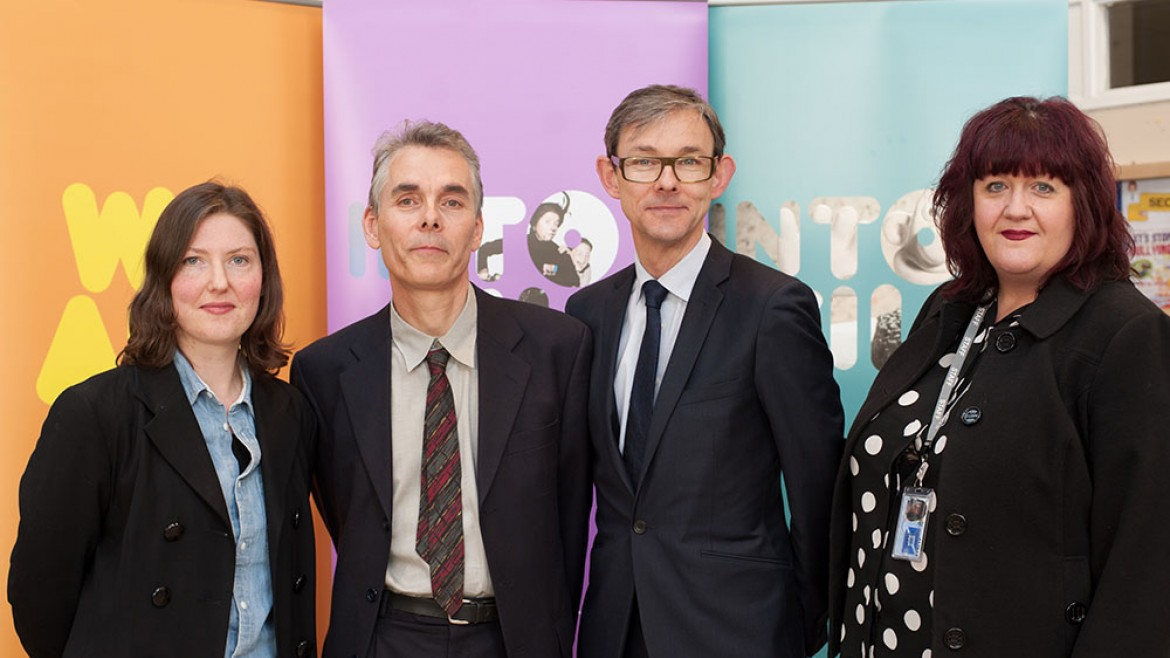 Group shot from Into Film Scotland launch
