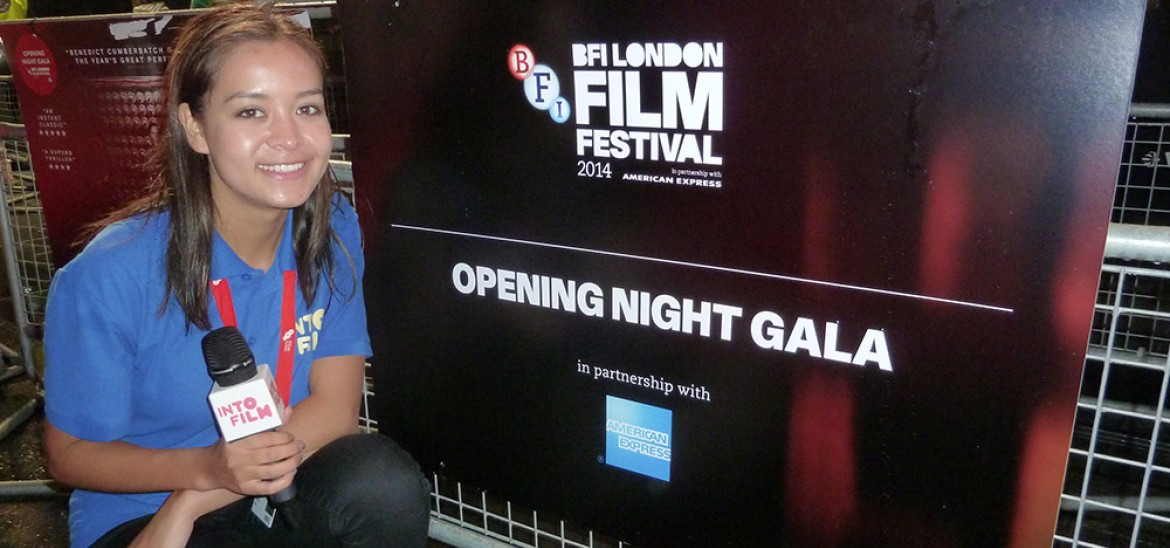 Lily at the opening night of the BFI London Film Festival 2014