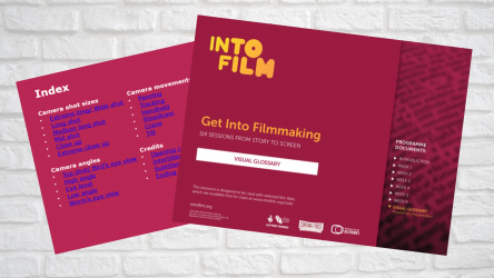 Image of PPT for Get into Filmmaking Visual Glossary