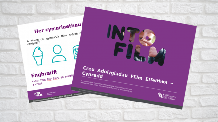 Image of Creating Effective Film Reviews - Welsh Primary PPT