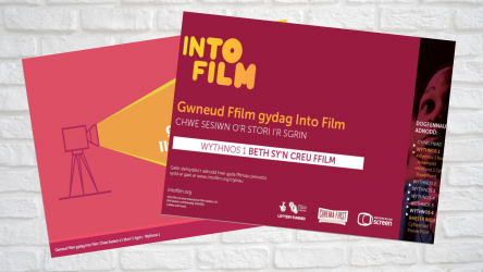 Image of Six Sessions from Story to Screen - Week 1 PPT  (Welsh)