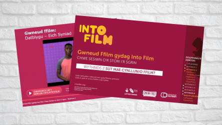 Image of Six Sessions from Story to Screen - Week 2 PPT  (Welsh)