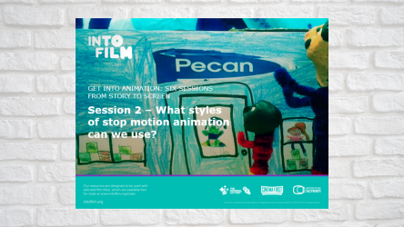 Image of Get into Animation Session 2 PPT