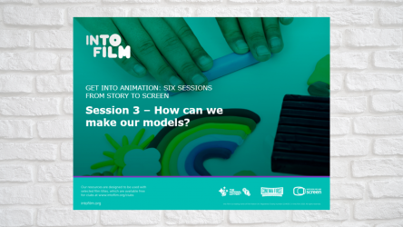 Image of Get into Animation Session 3 PPT