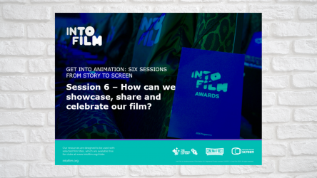 Image of Get into Animation Session 6 PPT