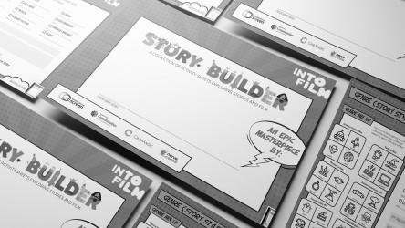 black and white thumbnail for Story Builder