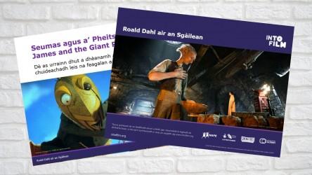 Image of Scots Roald Dahl on Film PPT