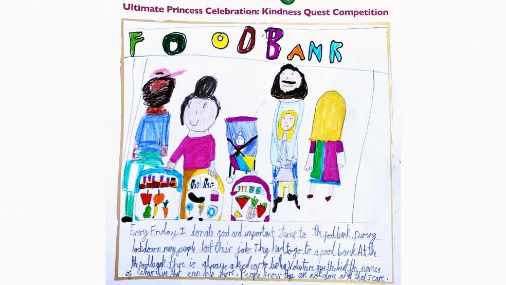 Ultimate Princess Celebration - Kindness Quest Competition Winner - Sarah,