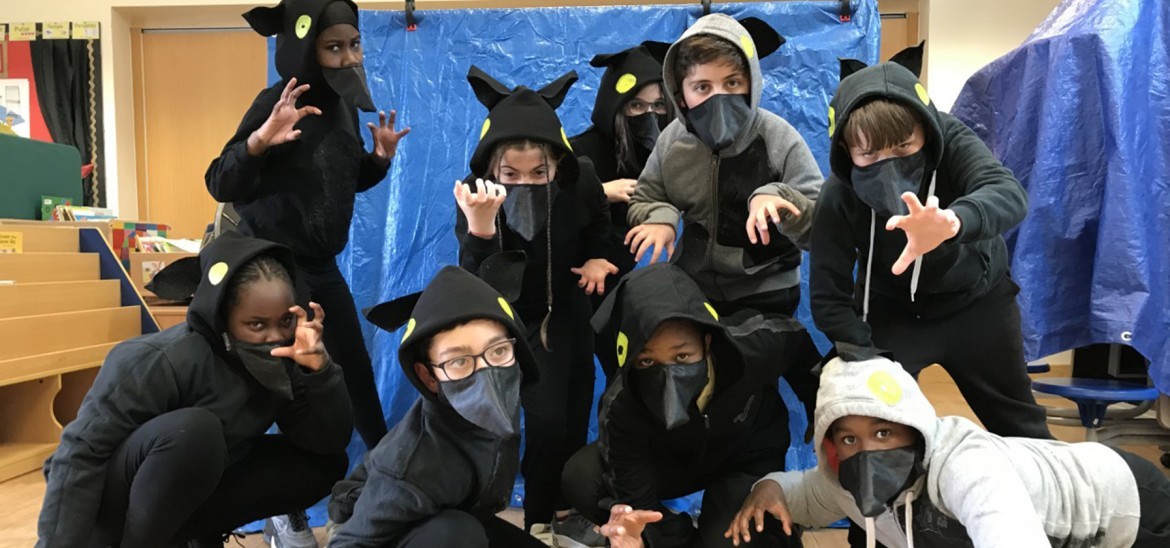 A Child of Stories - Scarabeus Aerial Theatre and Keys Meadow primary