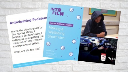 Image of PPT  for filmmaking section of Moving Minds 2