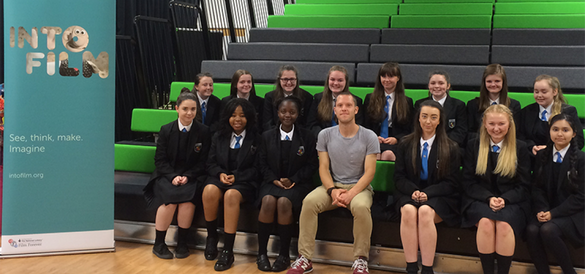 Rob Brown, Sixteen school-visit