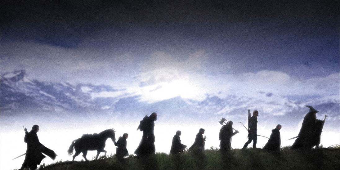 film the lord of the rings the fellowship of the ring into film