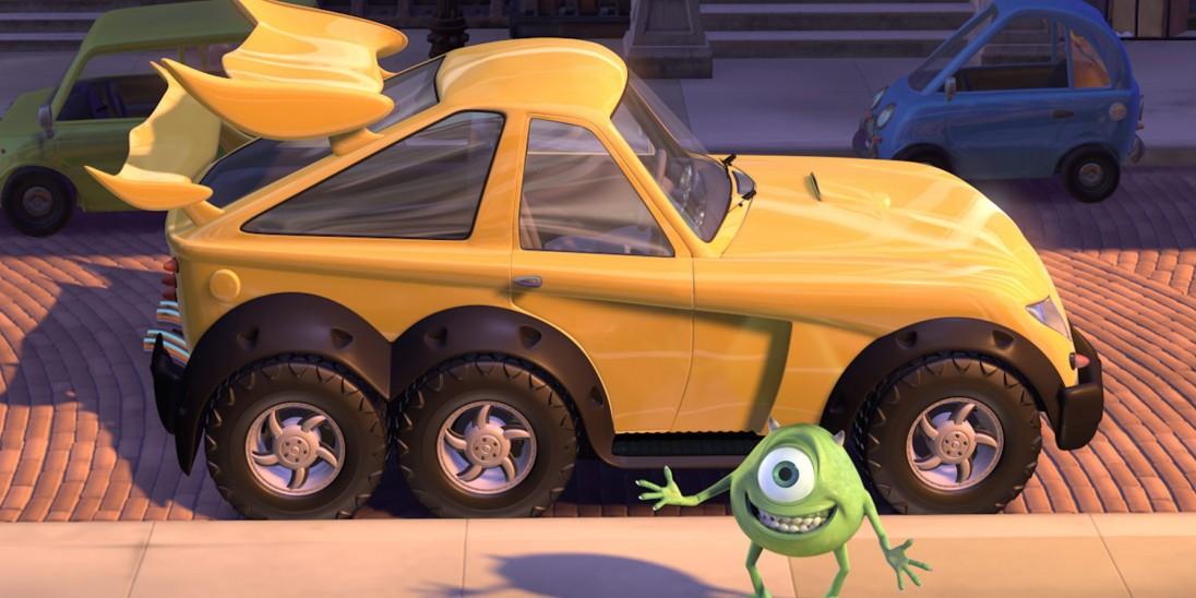 Pixar Short Films Volume 1: Mike's New Car