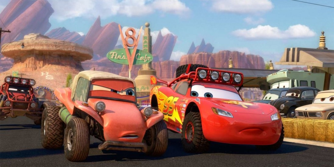 Pixar Shorts Volume 3: The Radiator Springs 500½