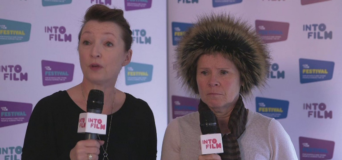 Imelda Staunton and Lesley Manville talk Maleficent with students