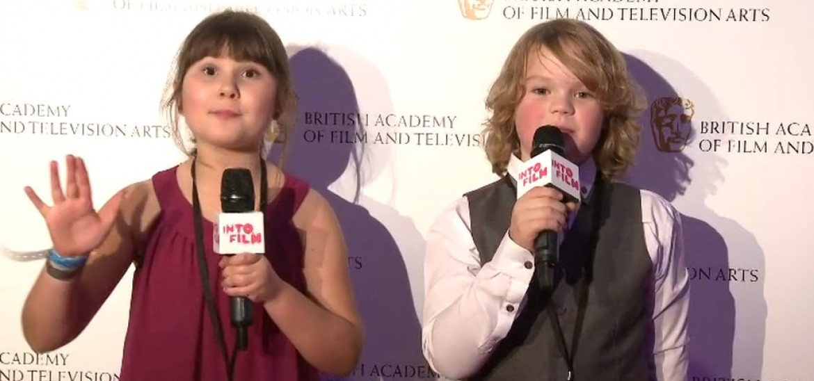 Into Film at the Children's BAFTA Awards