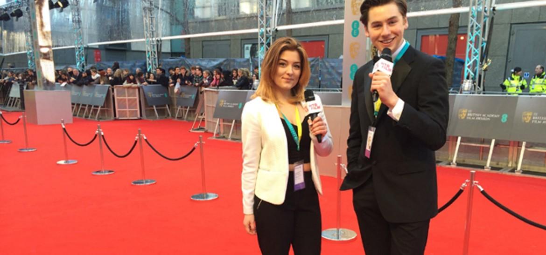 Harry and Eronita at the 2015 BAFTAs