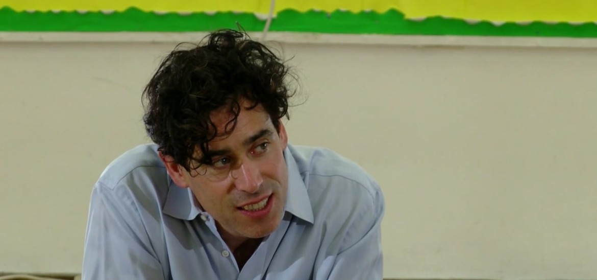Q&A with actor Stephen Mangan