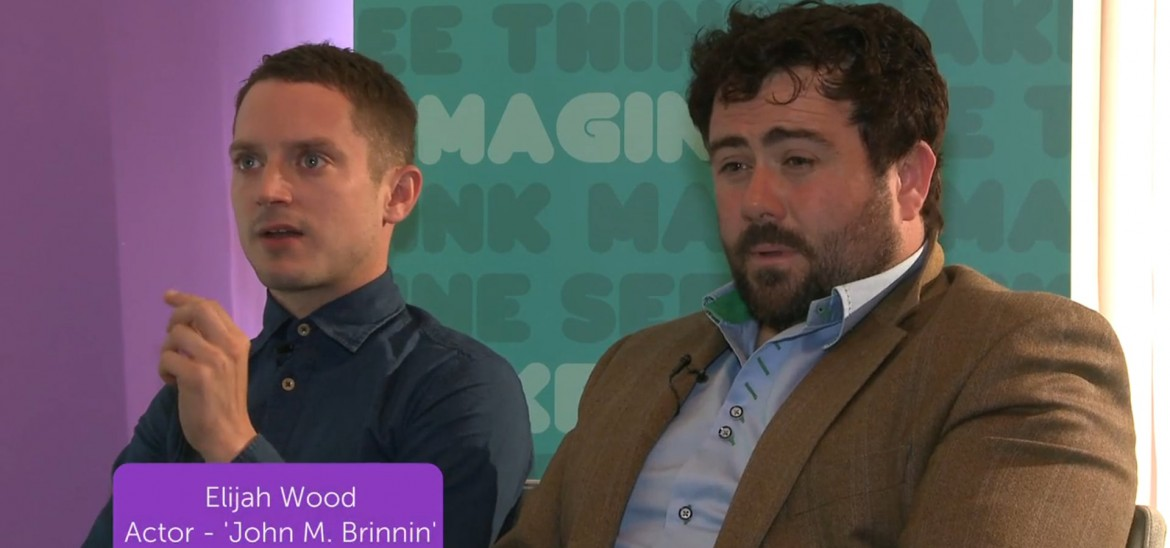 Set Fire to the Stars interview with Elijah Wood and Celyn Jones