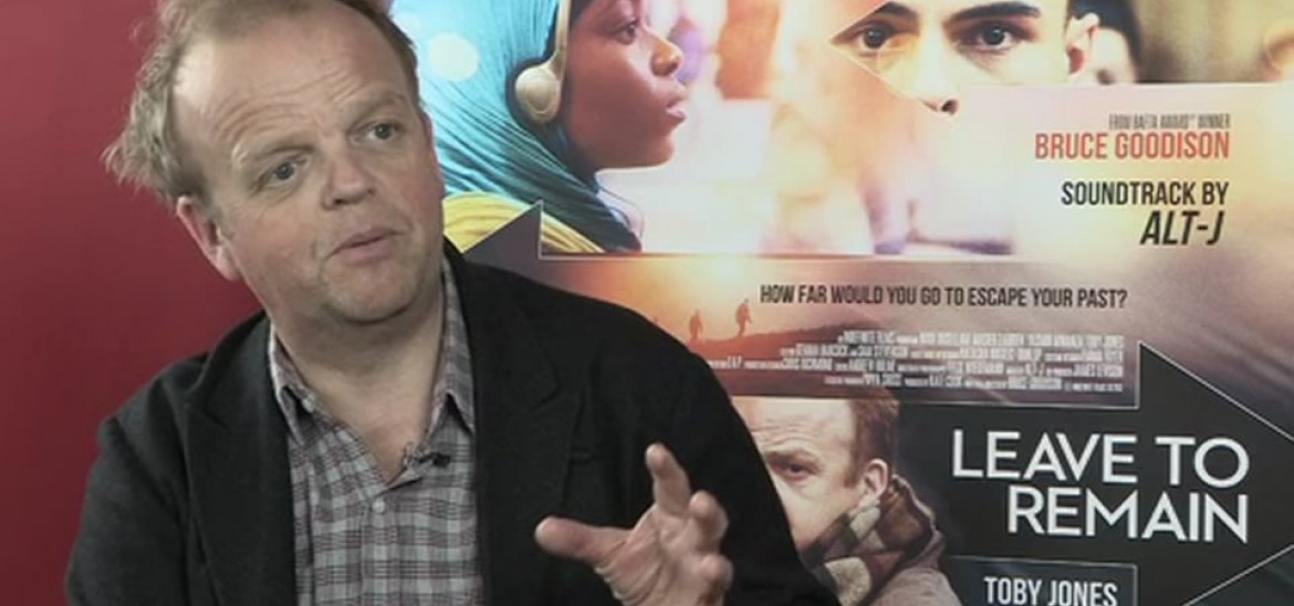 Actor Toby Jones and director Bruce Goodison discuss Leave to Remain