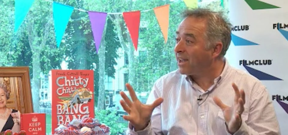 Interview with screenwriter and children's author Frank Cottrell Boyce