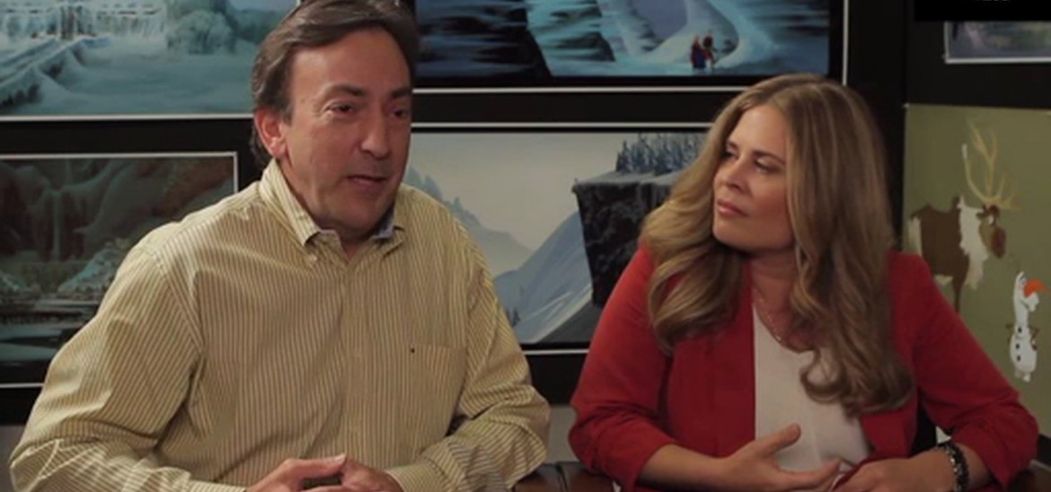 Frozen interview - Director Jennifer Lee and Producer Peter Del Vecho