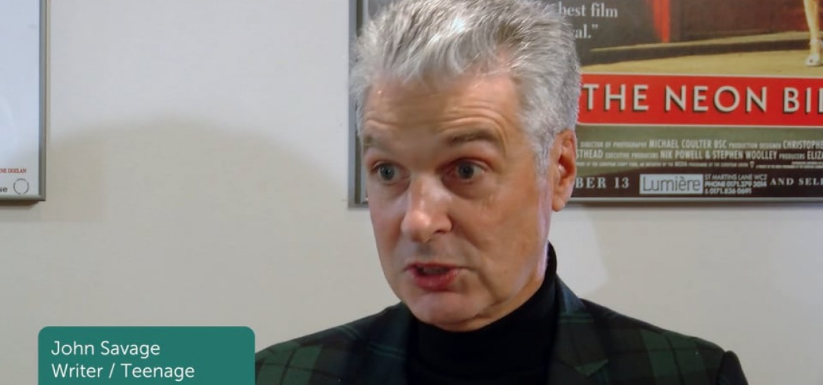 Interview with Jon Savage, writer of Teenage