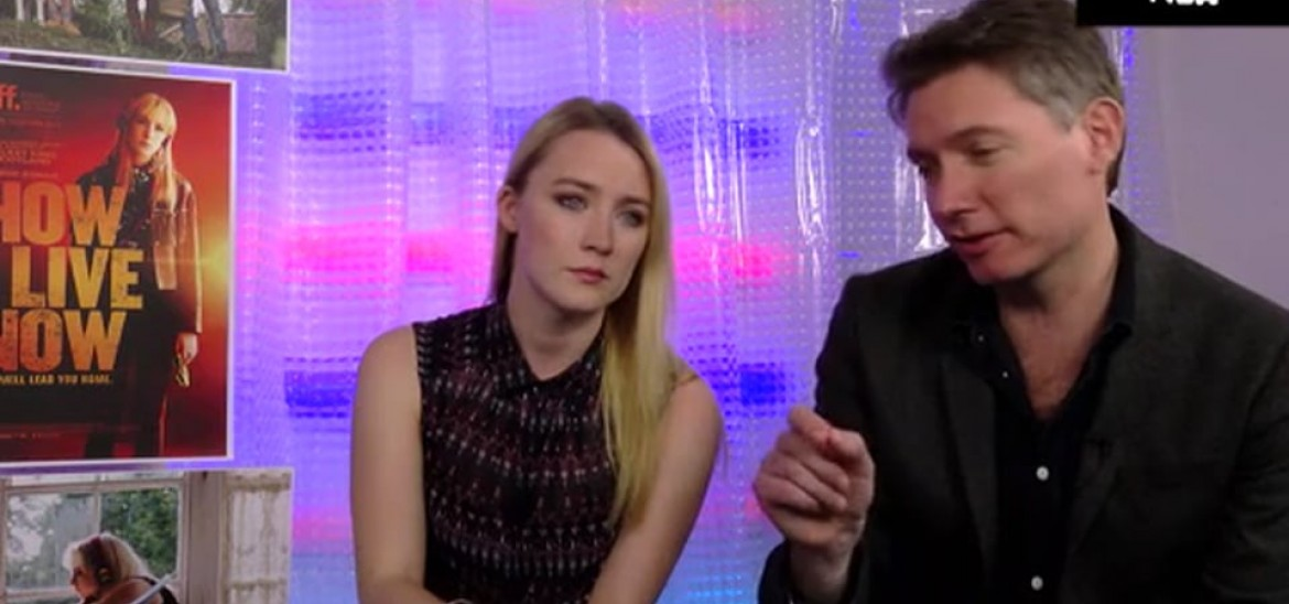 How I Live Now Interview - Saoirse Ronan and Kevin Macdonald