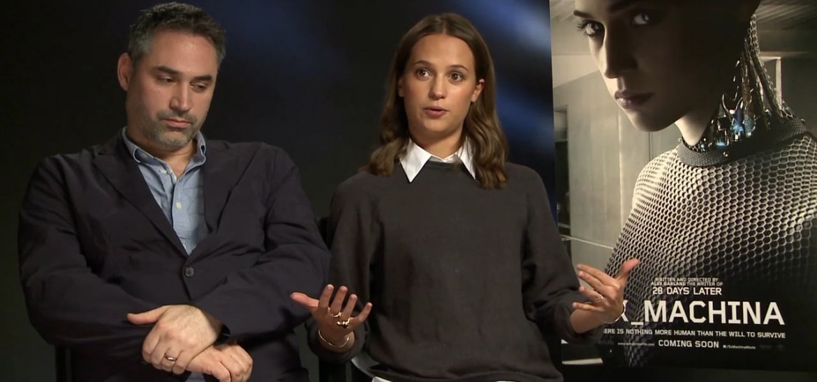 'Ex Machina' interviews with Alicia Vikander and director Alex Garland